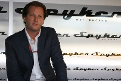 Spyker MF1 Racing press conference: Michiel Mol, future Director of Formula One Racing of Spyker and Spyker MF1 Racing