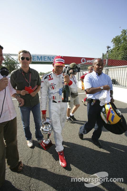 Lewis Hamilton campeón de GP2 Series
