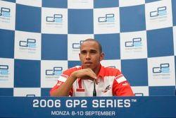 Conférence de presse : le champion GP2 Lewis Hamilton