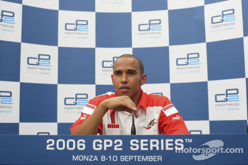 Hamilton era campeão, mas da GP2