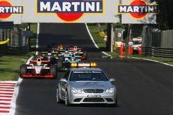 Giorgio Pantano derrière le Safety car