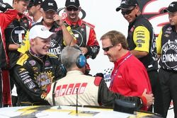 Steve et Rusty Wallace interviewés par Speed Channel