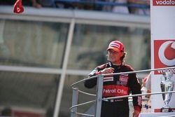 Race winner Giorgio Pantano