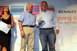 Paul Jackson with iSport's Best Engineered Team award