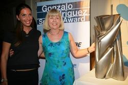 Gonzalo Rodrigues Special Award winner Penny Whittaker