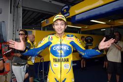 Polesitter Valentino Rossi, Yamaha