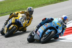 John Hopkins, Suzuki; Colin Edwards, Yamaha