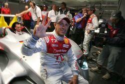 Pole winner Rinaldo Capello celebrates