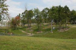 Landscape near turn 6