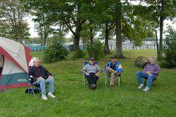 Fans of Watkins Glen and road racing