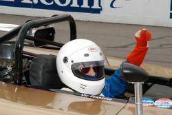 Vic Franzese in his 1968 McLaren M12