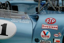 This 1967 Lola T70 MkIII spyder had a few famous drivers