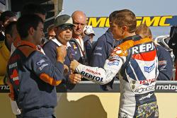 Polesitter Nicky Hayden, Repsol Honda Team