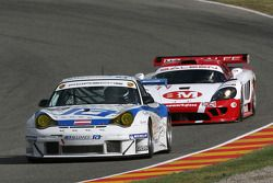#99 Race Alliance Motorsport Porsche 996 GT3 RSR: Lukas Lichtner-Hoyer, Thomas Gruber