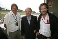 M. Tomczyk et Piccinini avec Stephane Ratel