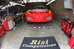 Le garage de Risi Competizione