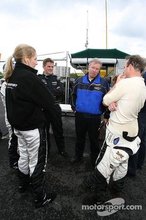 Liz Halliday, Clint Field et Jon Field