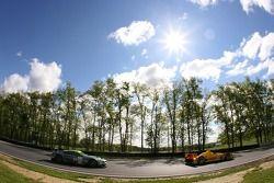#6 Penske Motorsports Porsche RS Spyder: Sascha Maassen, Lucas Luhr, #009 Aston Martin Racing Aston Martin DB9: Pedro Lamy, Stéphane Sarrazin