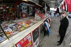 La zone des vendeurs
