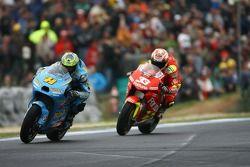 Chris Vermeulen, Suzuki; Marco Melandri, Honda
