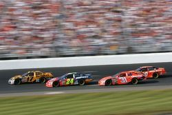 Matt Kenseth, Jeff Gordon, Jeff Burton and Tony Stewart