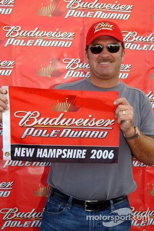 Pole winner Mike Skinner