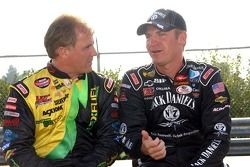 Dennis Setzer and Clint Bowyer