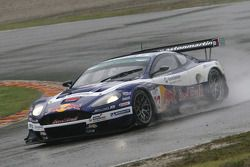 Aston Martin DBR9 #33 Race Alliance Motorsport : Karl Wendlinger, Philipp Peter