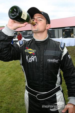 Champagne for Adam Pecorari