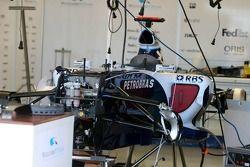 WilliamsF1 Team work, otomobil pitlane