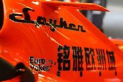 Spyker MF1 Racing motor kapağı