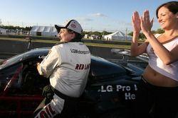 Un bel accueil pour le vainqueur Lou Gigliotti
