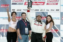 Podium: race winner Lou Gigliotti