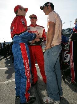 Greg Biffle, Paul Tracy et David Stremme