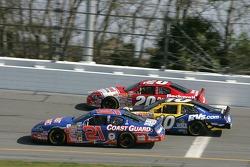 Jeff Burton, John Andretti et Denny Hamlin
