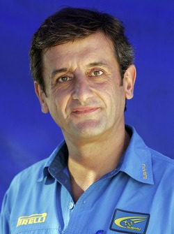 Luis Moya, directeur du Subaru World Rally Team