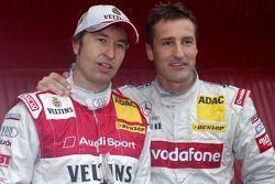 Heinz-Harald Frentzen and Bernd Schneider