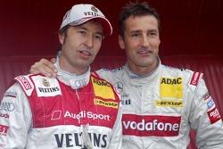 Heinz-Harald Frentzen et Bernd Schneider