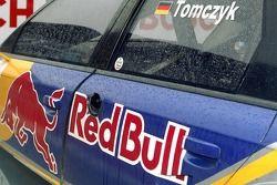 Détail sur l'Audi en pole position