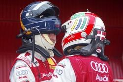 Heinz-Harald Frentzen et Tom Kristensen