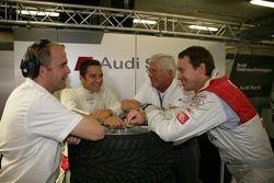 Andreas Roos, Timo Scheider, Arno Zensen et Frank Stippler