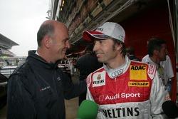 Dr. Wolfgang Ullrich et Heinz-Harald Frentzen