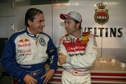 Carlos Sainz et Heinz-Harald Frentzen