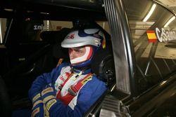 Carlos Sainz dans l'Audi Race Taxi