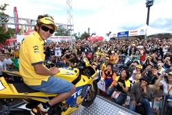 Valentino Rossi meets fans
