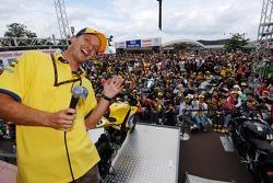 Colin Edwards meets fans