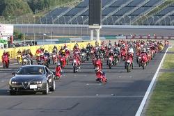 Ducati-Parade