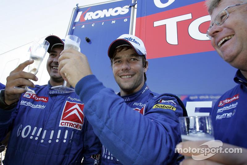 Sébastien Loeb y Daniel Elena, campeones del mundial de rallies (WRC) 2006