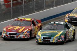 Ken Schrader and Regan Smith