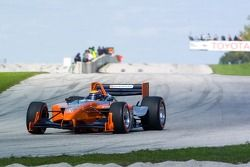 Roberto Moreno fait un tour sur la Panoz DP01 Champ Car 2007